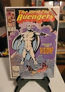 West Coast Avengers #45 1st appearance of White Vision