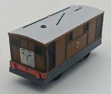 Toby #7 Thomas & Friends Trackmaster Motorized Car Mattel Gullane 2013 TESTED