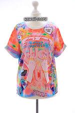 T-10 Lolita T-Shirt Funky Funny Hands Harajuku Japan Trend Fashion Süß Kawaii