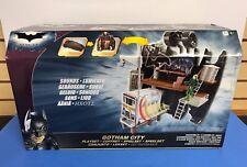 Batman Dark Knight GOTHAM CITY Playset tranforms to Batmobile Tumbler ~ Sealed