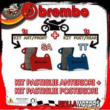 BRPADS-6143 KIT PASTIGLIE FRENO BREMBO ZERO ZF DS 2015- 12.5CC [SA+TT] ANT + POS