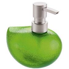 Dosatore dispenser sapone portasapone liquido bagno cucina Grace di Koziol verde