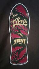"Alva Street Fire replica Skateboard Deck Shaped Sticker over 7"""