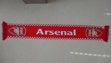 ARSENAL FC - Vintage Classic England Premier League Football Soccer Knit Scarf