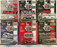M2 Machines 2018 Auto-Drivers #11228R48 1:64 Scale Diecast (Complete set of 6)