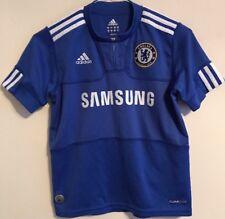 Chelsea home football shirt size 9-10 years blue colour Adidas 2009-2010