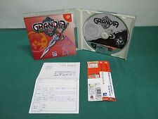 Dreamcast -- GRANDIA 2 -- spine. JAPAN. GAME Clean & Work fully. 30764