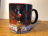 IT You'll Float Too Pennywise RARE 20 Oz. Coffee Mug Cup NEW Stephen King Jumbo
