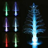Multi Changing LED Light Yard Outdoor Xmas Tree Party Table Decoration Ornament