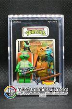 Teenage Mutant Ninja Turtles MICHAELANGELO Custom Carded Display MiniFigure TMNT