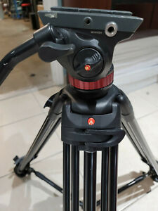 Manfrotto 546B Tripod Bridgeing technology FluidHead