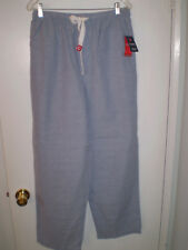 "CHAPS Mens Pajama Pants Performance Sleepwear Lounge (S) Small ""Cove Blue"" NEW!"