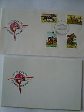 COLLECTION OF MINT AUSTRALIAN STAMPS 'HORSERACING' NEW PRESENTATION PACK + FDC