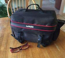 LeMans 620 all-purpose shoulder-strap camera bag design by Diamond. Pro quality