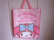 My Melody 40th event 2way bag pink new JAPAN 2015 rare Sanrio