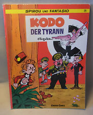 """Carlsen Verlag Comic Spirou und Fantasio Band 26 """" Kodo der Tyrann """""""