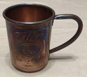 Tito's Handmade Vodka Copper Moscow Mule Mug