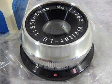 Vivitar 50mm Enlarging Lens for Leica 1:f3.5 Threaded #11763 Japan