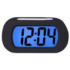 Modern LCD Display Alarm Clock Night Lights Digital Desk Clock Lamp Home Office