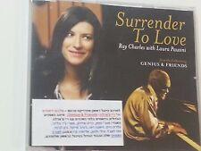 RAY CHARLES w/ LAURA PAUSINI surrender to love  1TR  ISRAELI PROMO CD