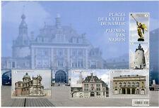 Belgium 2018 MNH Squares of Namur Namen 5v M/S Tourism Architecture Stamps