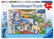 Ravensburger Kinderpuzzle Mit Blaulicht unterwegs ab 3 Jahren