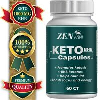 Keto Diet Pills BHB Complex Fat Burner For Weight Loss, Appetite Management