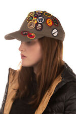 RRP €165 DSQUARED2 Scout Baseball Cap One Size Patched & Embroidered Strapback