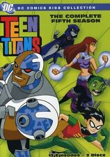 Teen Titans: The Complete Fifth Season [2 Discs] (2008, DVD NEW)