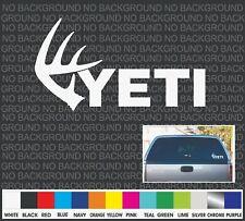 Yeti Whitetail deer Antler Boat Cooler Car Truck Window Decal Sticker Laptop 7