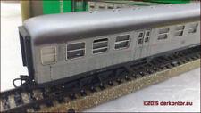 Modellbahnen der Spur H0 aus Weißmetall Silberling (DB-Personenwagen)