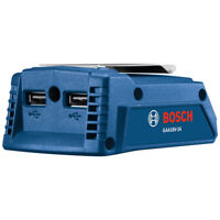Bosch GAA18V24N 18V Fast-Charging Portable Dual Power Adapter (Tool Only) New