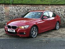 2012 (12) BMW 318D M SPORT F30 3 SERIES RED SALVAGE DAMAGED REPAIRABLE