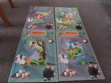 DISNEY....4 HUGE books- Bambi, Peter Pan, Little Mermaid & Jungle book...soft