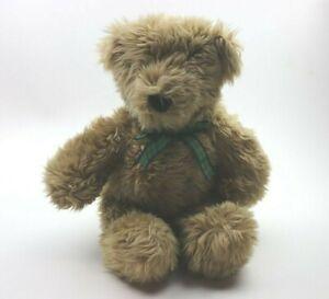 """1989 18"""" Ruggles Stuffed Teddy Bear w/ Green Plaid Bow North American Bear Co."""