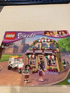 "LEGO  41311 FRIENDS  ""HEARTLAKE PIZZERIA""  Building Manual"
