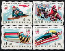 Austria Insbruck Winter Olympic Games stamps 1976 MNH