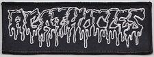 AGATHOCLES logo patch napalm death rot deathtoll 80k sore throat archagathus