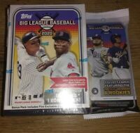 2020 Topps Big League Baseball Blaster Box/ Value Pack Combo!! Factory Sealed🔥