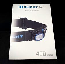 Olight Array 400 Lumen's Headlamp / Headlight LED Flashlight Rechargeable Torch