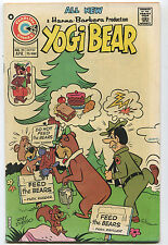 Hanna-Barbera  Yogi Bear #25 VF  All New   Feed The Bears Charlton Comics  CBX2A