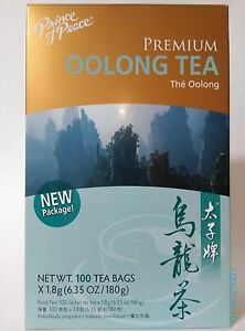 Prince of Peace - Premium Oolong Tea - 100 Tea Bags