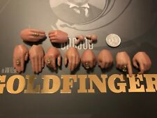 GRANDE CAPO Studios James Bond GOLDFINGER Oddjob MANI x 10 Loose SCALA 1/6th