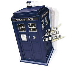 Doctor Who Spin and Fly Tardis Electronic Vehicle NEW Toys Light Sound Effect