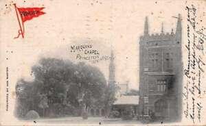 Princeton New Jersey Princeton University Marquand Chapel Postcard J74617