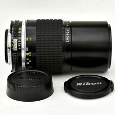 Nikon Nikkor 200mm f/4 AIS Man'l Fcs Telephoto Lens. Mint. Tested. See Images.
