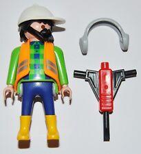 Series 6-H10 Obrero playmobil serie 5458 construcción,worker,building