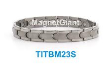 High power mens magnetic Titanium bracelet (5000 gauss magnets)