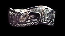 Northwest Coast Sterling Silver Eagle Pride Bracelet