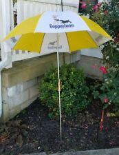 Vintage 6ft Beach Cafe Advertising Umbrella Coppertone Suncare Sun Tan Lotion